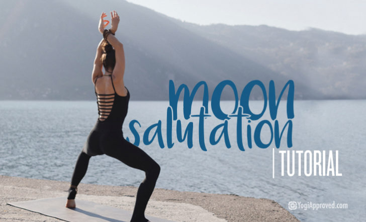 Learn How to Harness Calming, Cooling Lunar Energy With This Moon Salutation Flow Tutorial