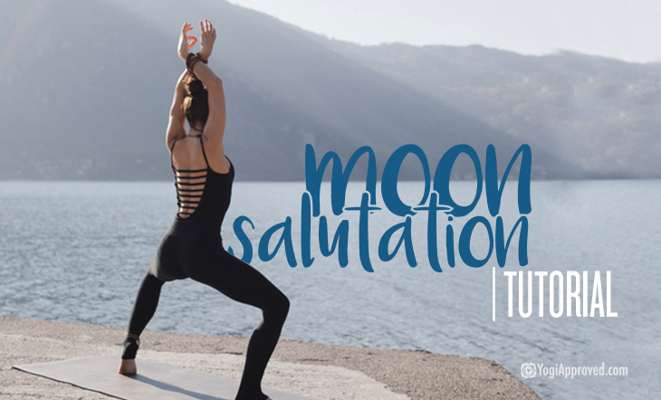 Learn How To Practice A Moon Salutation With This Yoga