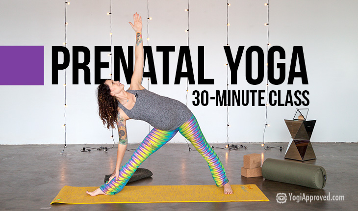 Practice This Prenatal Yoga Class to Relax Your Body and Connect With Your Baby (Free 30-Minute Video)