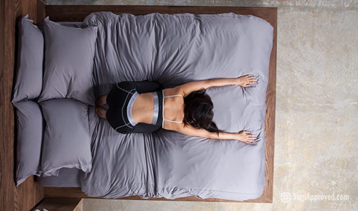 These Sheets Are Made from the Same Material As Yoga Pants – You Definitely Want to Sleep On These!!