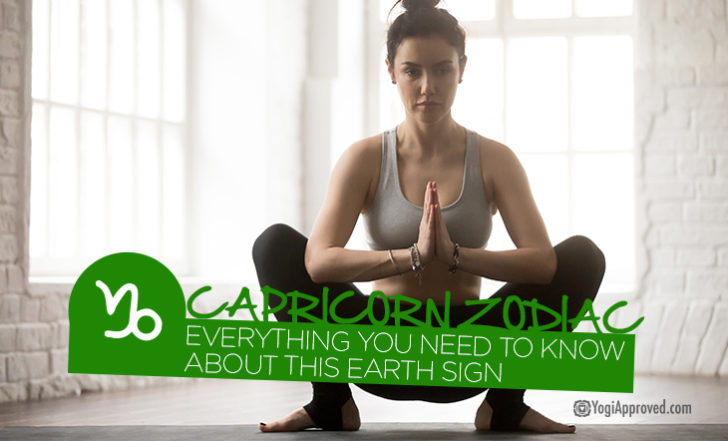 Your Complete Guide to Capricorn Zodiac + 5 Stabilizing Yoga Poses for This Earth Sign