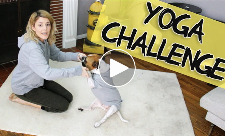 This YouTube Celebrity Makes Fun of Yoga Challenges (Funny Video)