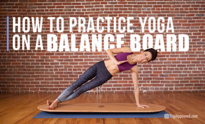 yoga on balance board feature