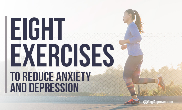 These Are the Top 8 Exercises to Reduce Anxiety and Depression