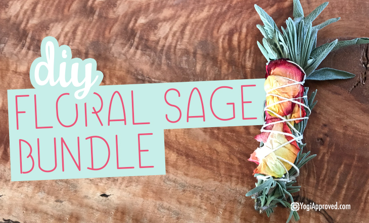 Here's How to Make Your Own DIY Floral Sage Smudge Bundle