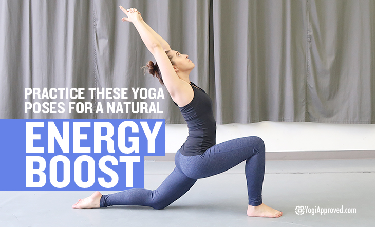 Afternoon Slump? Practice These Yoga Poses to Boost Your Energy