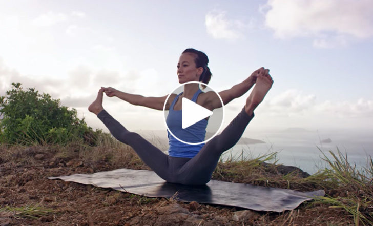 Hawaiian Mountain Yoga Flow That Will Make Your Soul Sing