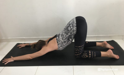 yoga poses for back pain featured