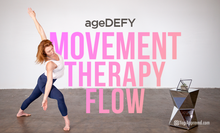 Stay Feeling Young with This AgeDEFY Movement Therapy Beginner Flow (Free Class)