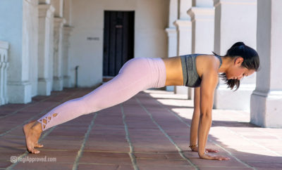 how to practice plank pose