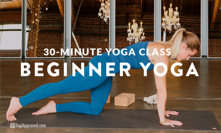 New to Yoga? Take This 30-Minute Beginner Yoga Flow (Free Class)