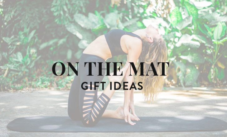 2018 On-the-Mat Holiday Gift Guide