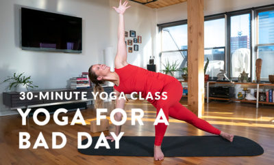 Yoga for a bad day featured