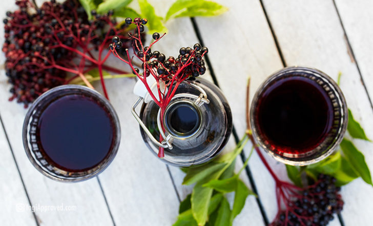 DIY Elderberry Syrup Recipe (One of the Best Natural Cold + Flu Remedies)