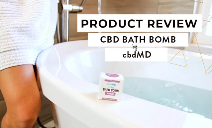 It's Bath Time! We Review CBD Bath Bombs by cbdMD (Product Review Video)
