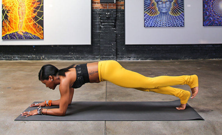 Practice These 3 Killer Core Exercises (Plus the Songs That Will Get You Psyched to Do Them!)