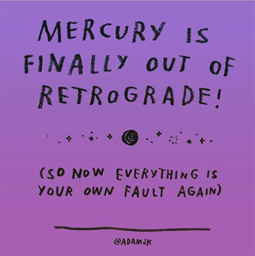 out-of-retrograde