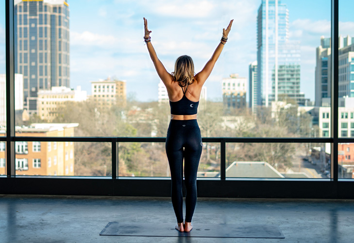 """Mountain Pose """"width ="""" 730 """"top ="""" 500 """"class ="""" aligncenter size-full wp-image-91116 """"/> </p> <p> All of those practices and yoga for singers are so useful, however on the finish of the day, we nonetheless want to have the ability to rise up and sing! </p> <p>. . . However do a proper approach to do it. Tadasana, or Mountain Pose, is an lively standing place, making you elongate, floor and launch what is important on your physique to be as open and calm as attainable. Seems like a really perfect yoga pose for singers to me! </p> <p> There are two important ideas to bear in mind whereas standing in Tadasana. First, hold your toes firmly grounded by urgent down via all 4 corners. Second, hold your backbone elongated (rise up tall and proud!) And ears over your shoulders. </p> <p> <strong> Professional Tip: </strong> On difficult notes, particularly lengthy ones, be at liberty to increase your arms out. </p> <h2><span class="""