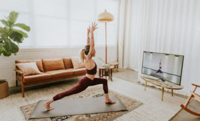 Online Yoga Feature