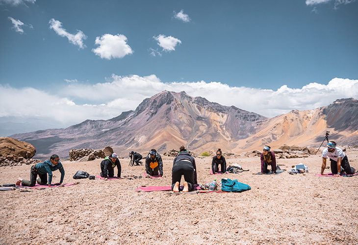 Yoga Chachani Mountain 5