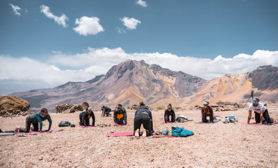 Yoga Chachani Mountain Featured