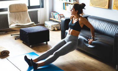 Top 5 Tips For At-Home Workout Feature