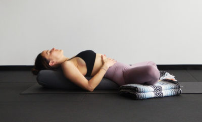 5 Restorative Pose With Props Feature