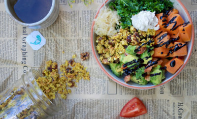 savoury breakfast bowl feature