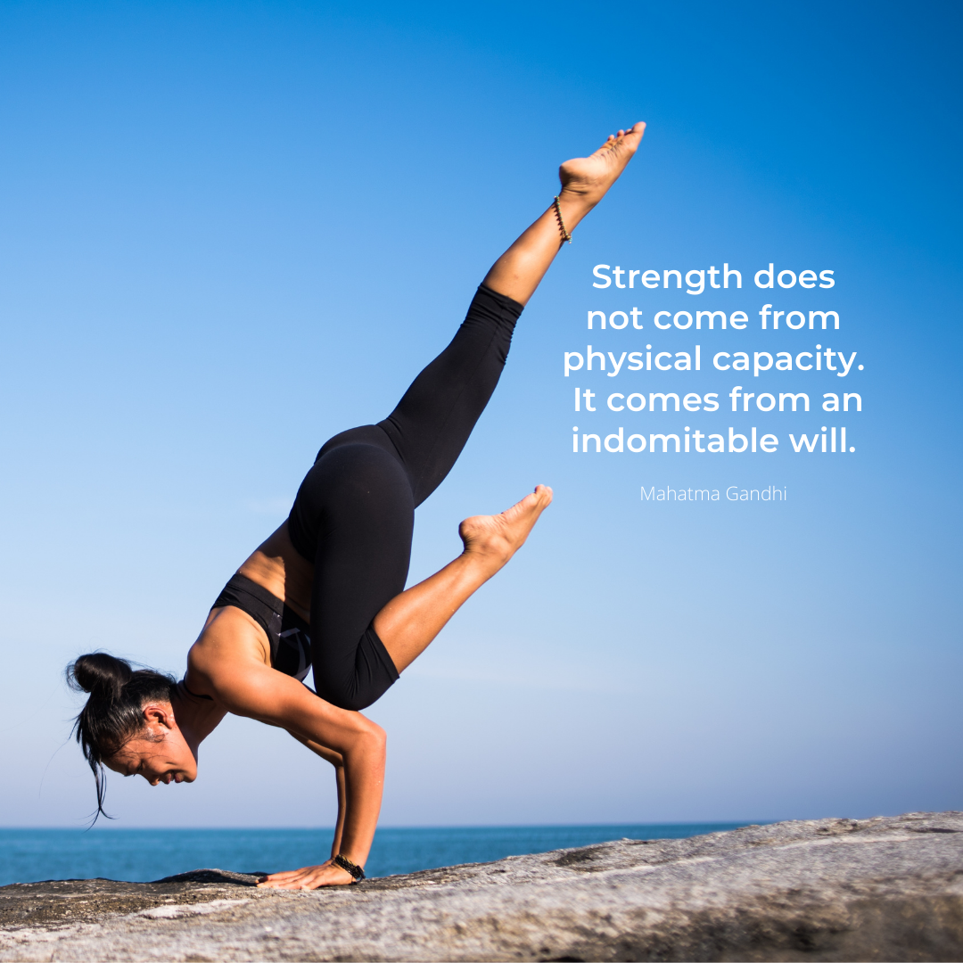 Strength does not come from physical_capacity. It comes from an indomitable will
