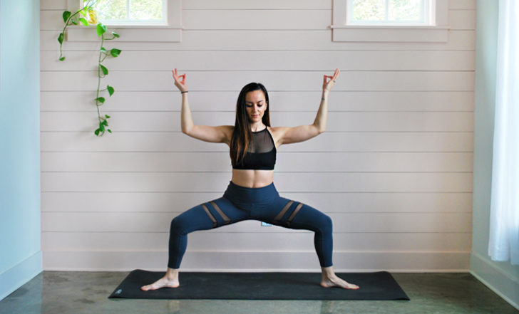 Learn How to Practice Moon Salutations (Photo Tutorial)