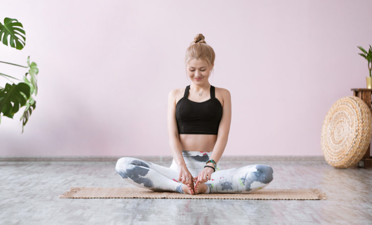4 Yin Yoga Poses to Soothe Your Sore Feet