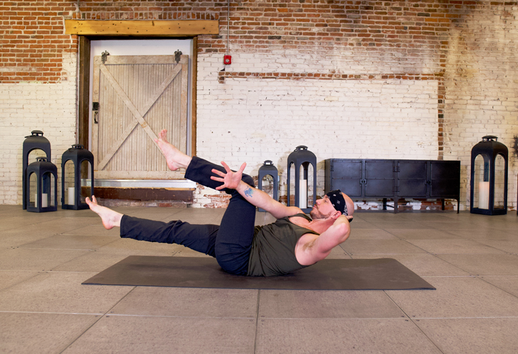 bicycle abs twist