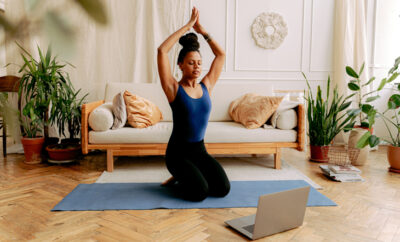 On Demand Yoga Feature