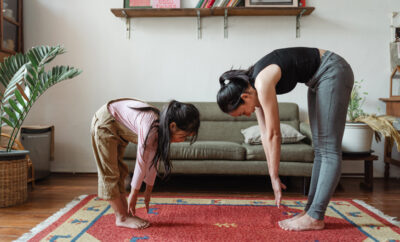 Yoga At Home With Kids Feature