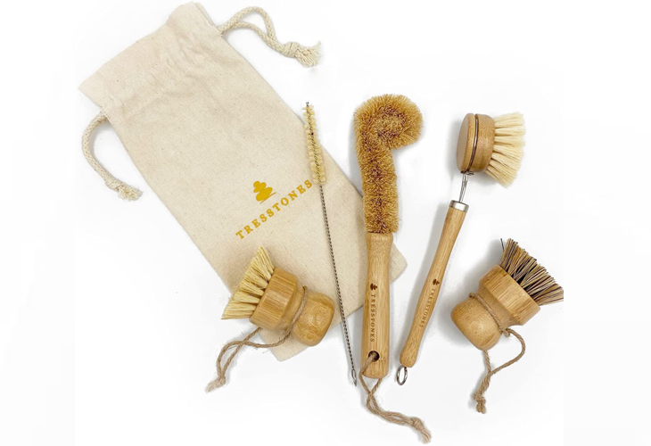 wooden dish brushes