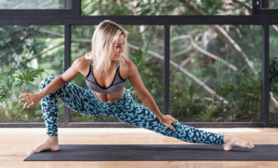 5 Yoga Poses for Glutes Feature